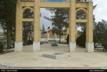 ۵۱ گلزار شهدا در اردستان ساماندهی شده است