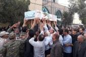 تشییع باشکوه شهید ۱۴ ساله اردستانی ۳۷ سال پس از شهادت/ تصاویر