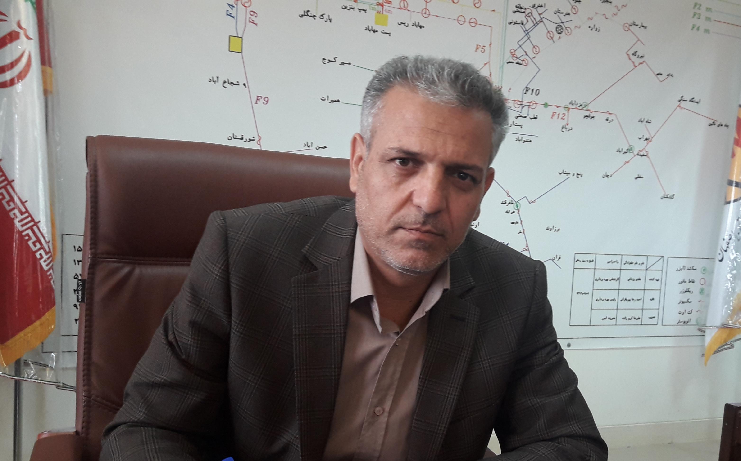 شهرستان اردستان روستای بدون برق ندارد