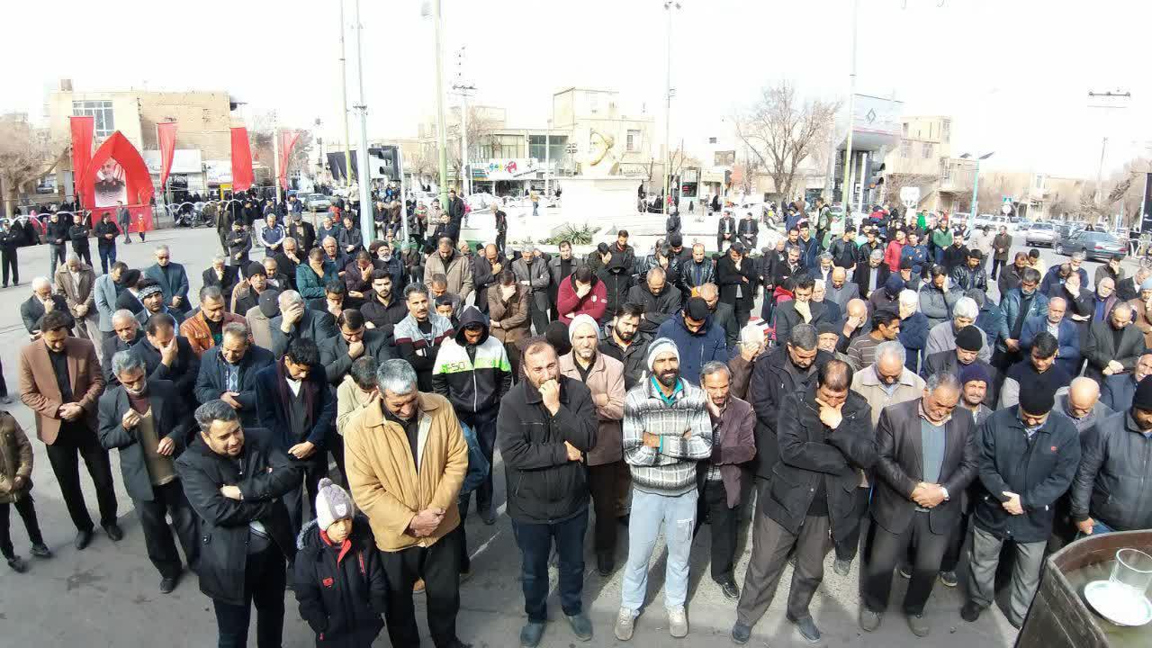 تجمع فاطمیون در اردستان برگزار شد/ تصاویر