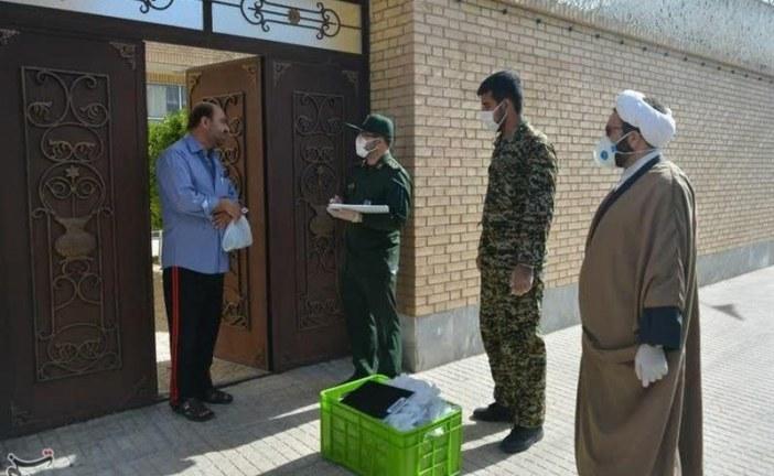 اجرای طرح غربالگری چهره به چهره توسط سپاه اردستان به روایت تصویر