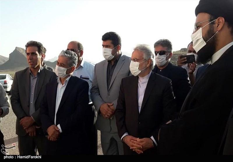 بازدید معاون رئیس جمهور از پروژه اردستان – اصفهان به روایت تصویر