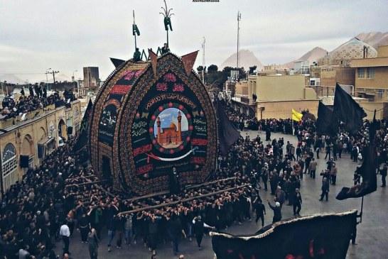گزارش  محرم کرونایی در اردستان / ویروسی که نخلگردانی ۳۰۰ ساله اردستان را به تعطیلی کشاند