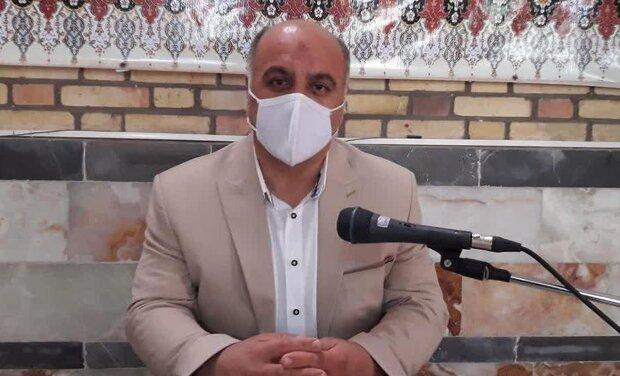 نهضت سنگ فرش در روستاهای بخش مهاباد اردستان آغاز می شود