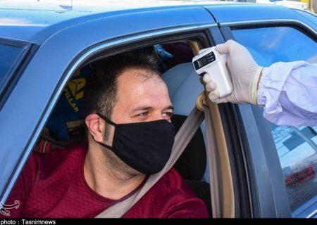مبادی ورودی و خروجی اردستان توسط هلال احمر و پلیس راهور کنترل میشود