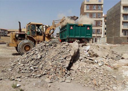 تضییع حقوق شهروندان در رهاسازی نخالههای ساختمانی/معضلی به نام نخاله ساختمانی در اردستان