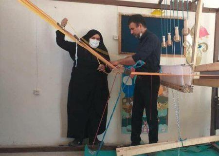 احیای پارچه بافی در اردستان؛ هنری که به دست فراموشی سپرده شده بود